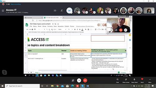 3 spotkanie partnerskie projektu Access IT